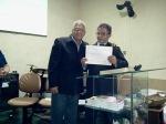 Entrega dos certificados do Primeiro Semestre do Instituto Formação de Guerreiros